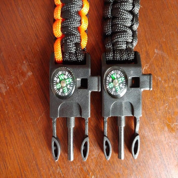 The clips of the bracelets