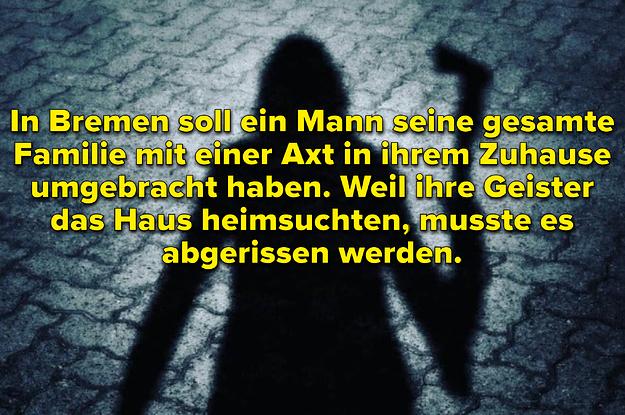 12 deutsche Horror-Legenden, die dir heute Nacht Albträume bescheren