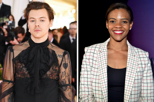 "Harry Styles Had The Best Response To Candace Owens Tweeting ""Bring Back Manly Men"" About His Vogue Cover"