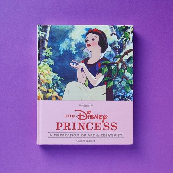 snow white on the cover of the book