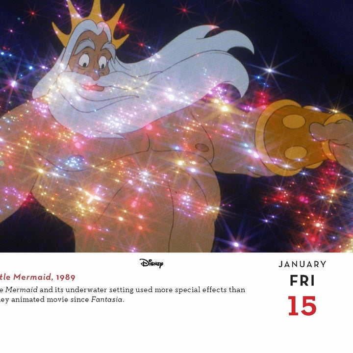 a day in the calendar featuring king triton
