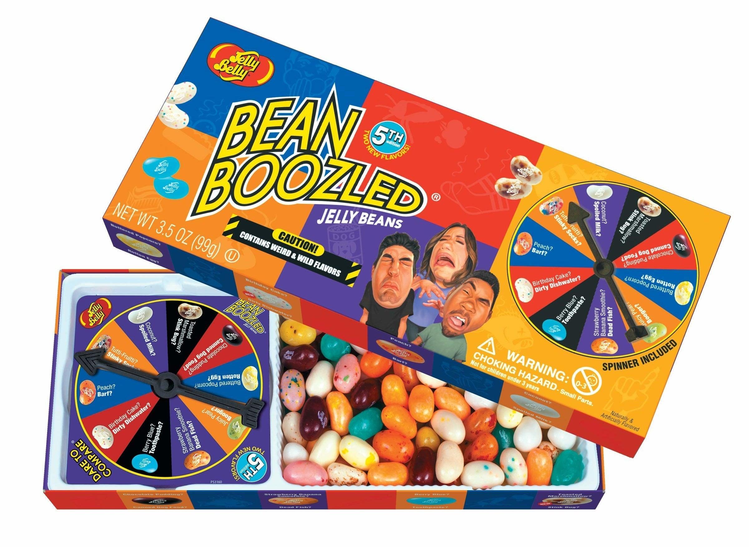 The Bean Boozled box