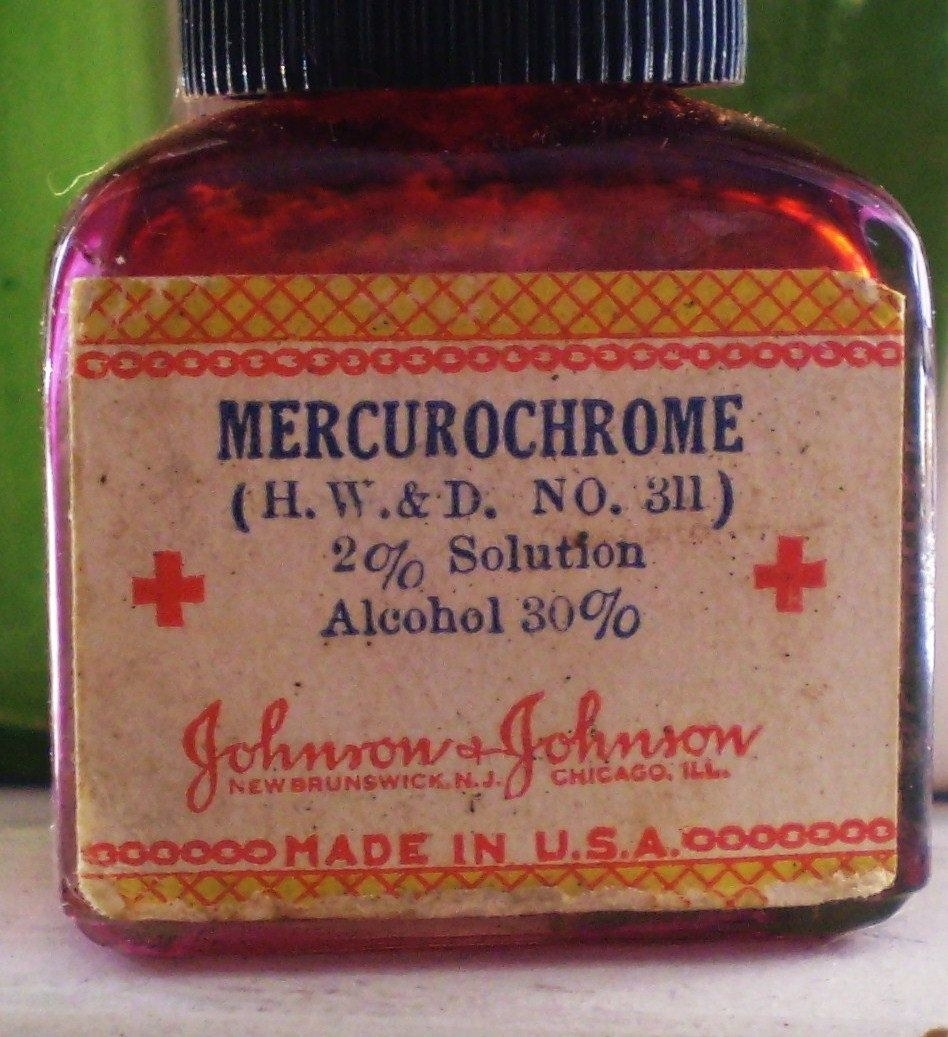 mercurochrome medicine