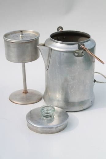 old fashioned coffee maker