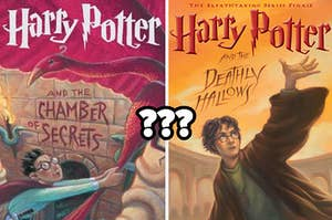"""Harry Potter and the Chamber of Secrets"" and ""Harry Potter and the Deathly Hallows"""