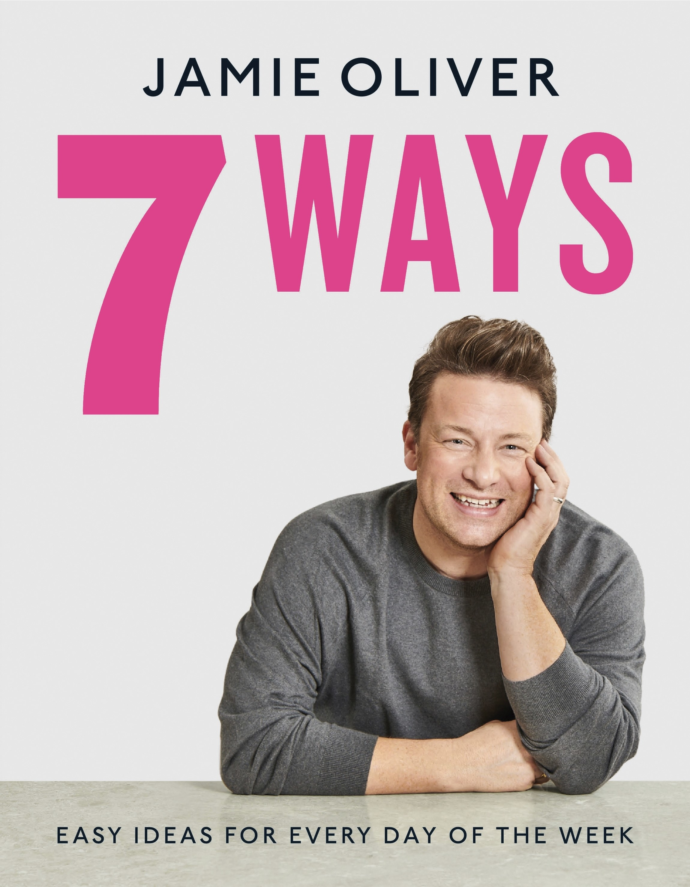 The cover of 7 Ways by Jamie Oliver