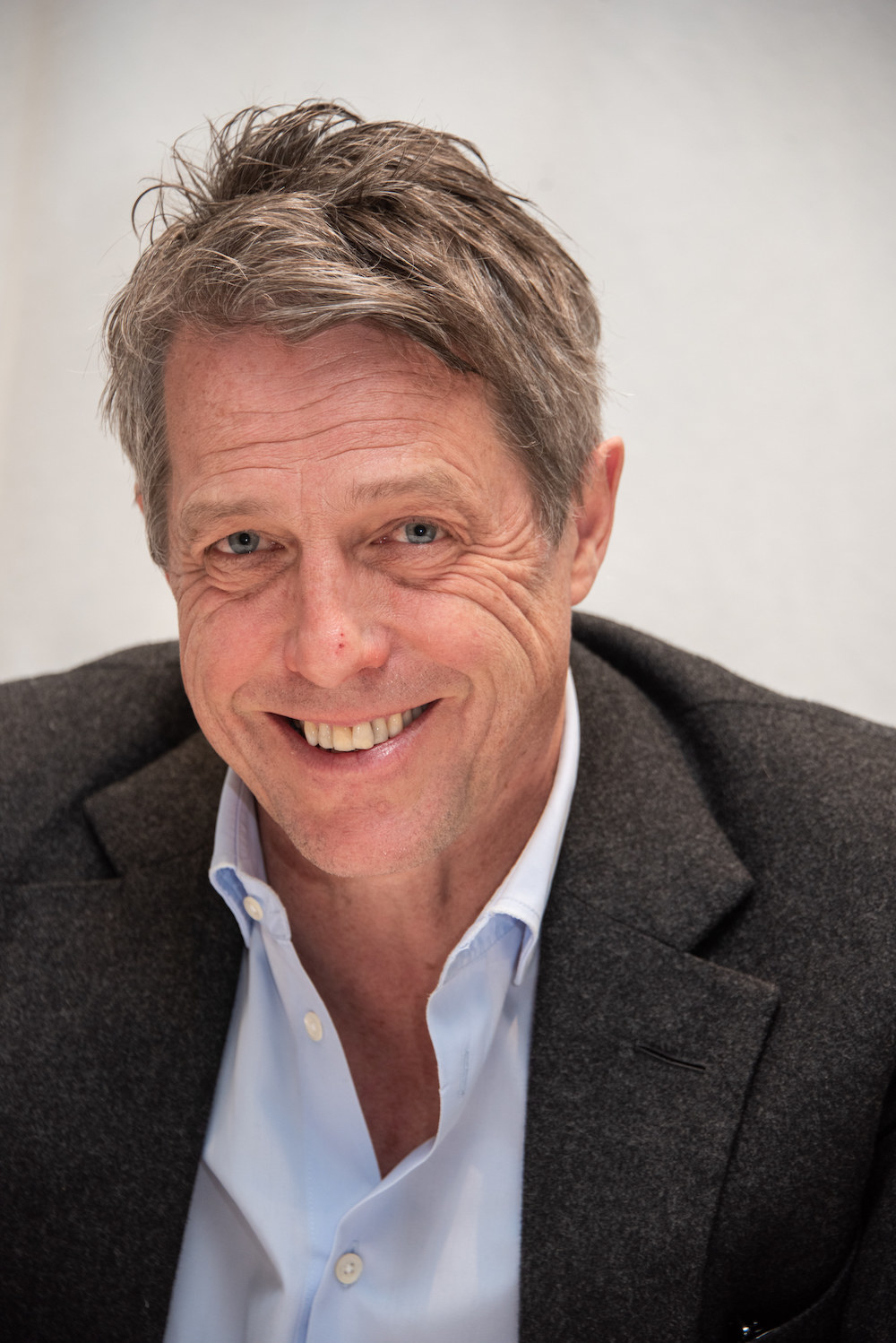 """Hugh Grant at """"The Undoing"""" Press Conference at the Four Seasons Hotel on March 09, 2020 in Beverly Hills, California"""