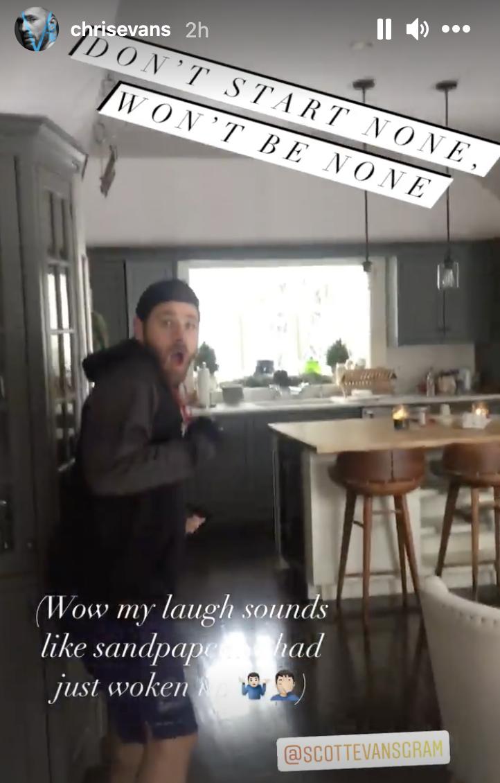 Scott getting scared