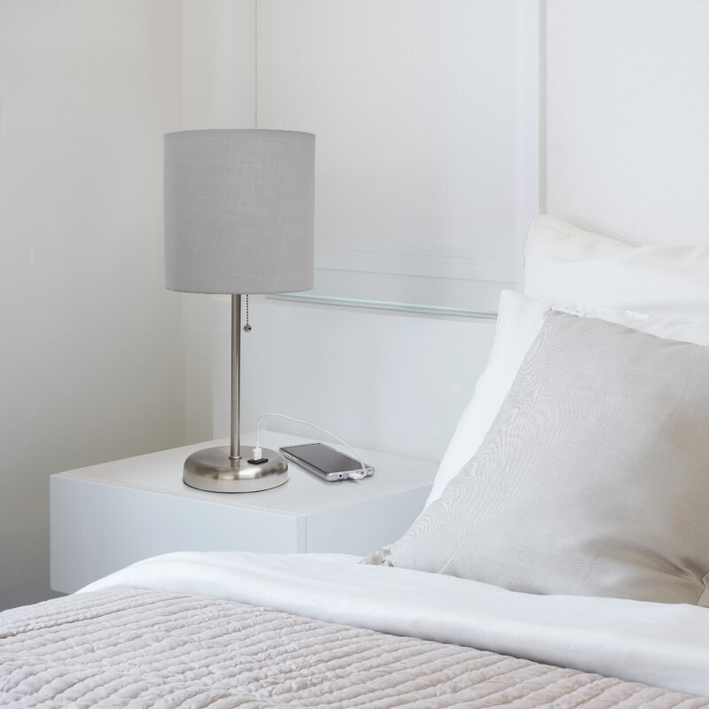 Orren Elis table lamp in gray