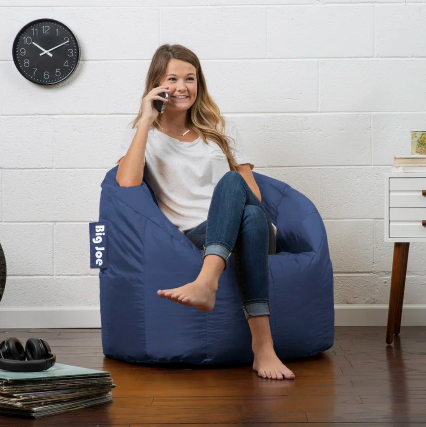 The bean bag chair and lounger