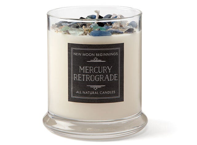 the mercury retrograde protection candle