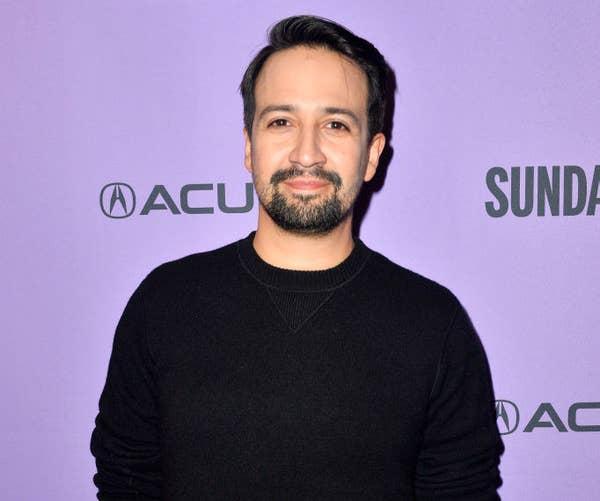 "Lin-Manuel Miranda attends the 2020 Sundance Film Festival - ""Siempre Luis"" Premiere"