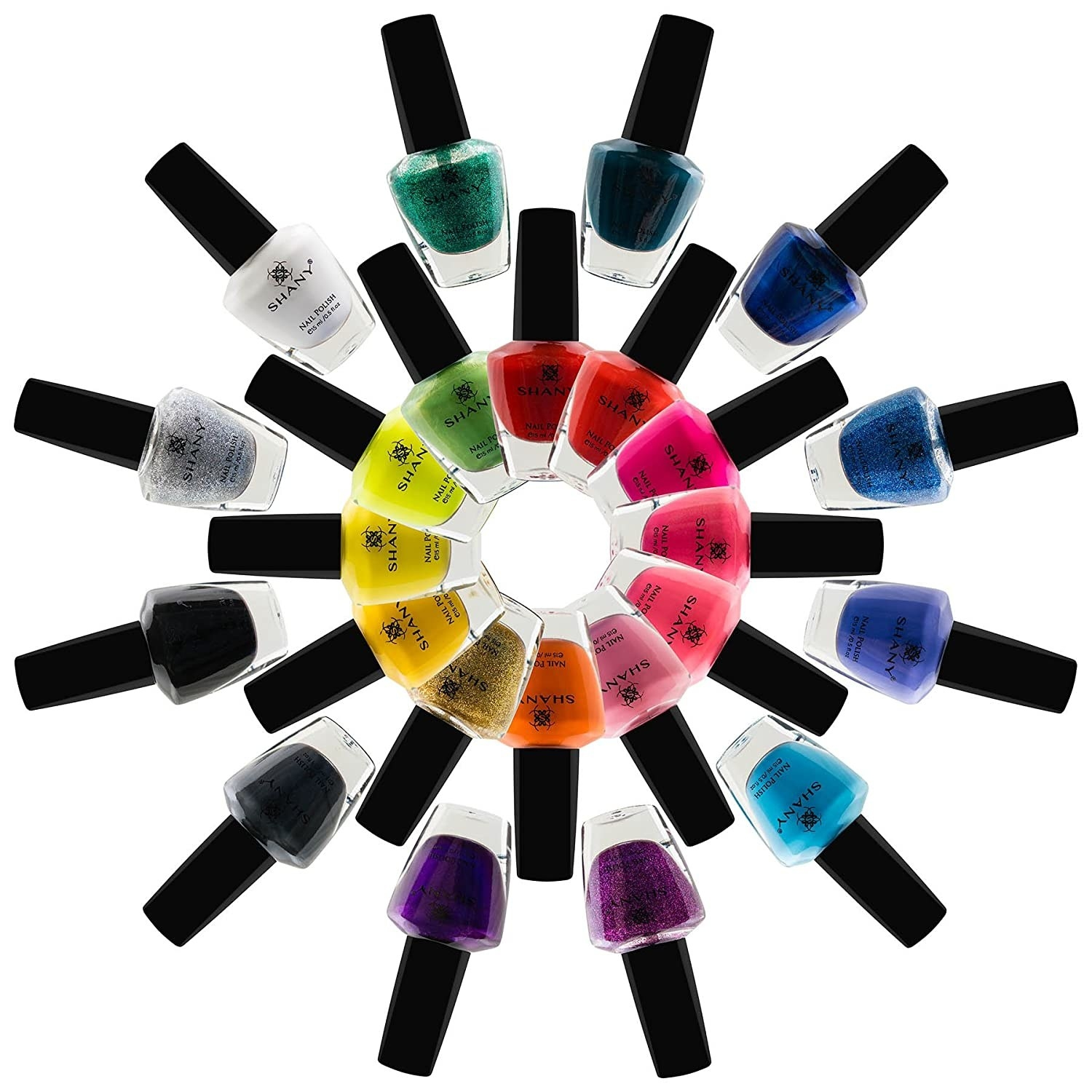 various nail polish colors