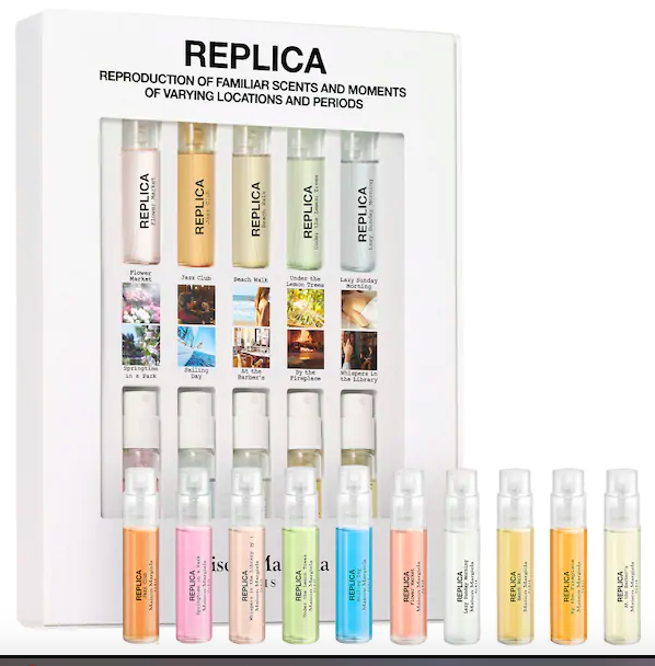 the perfume sampler set