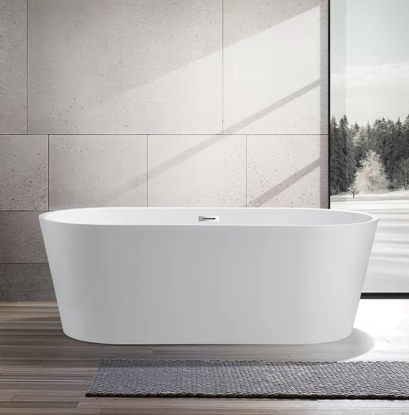 the white tub