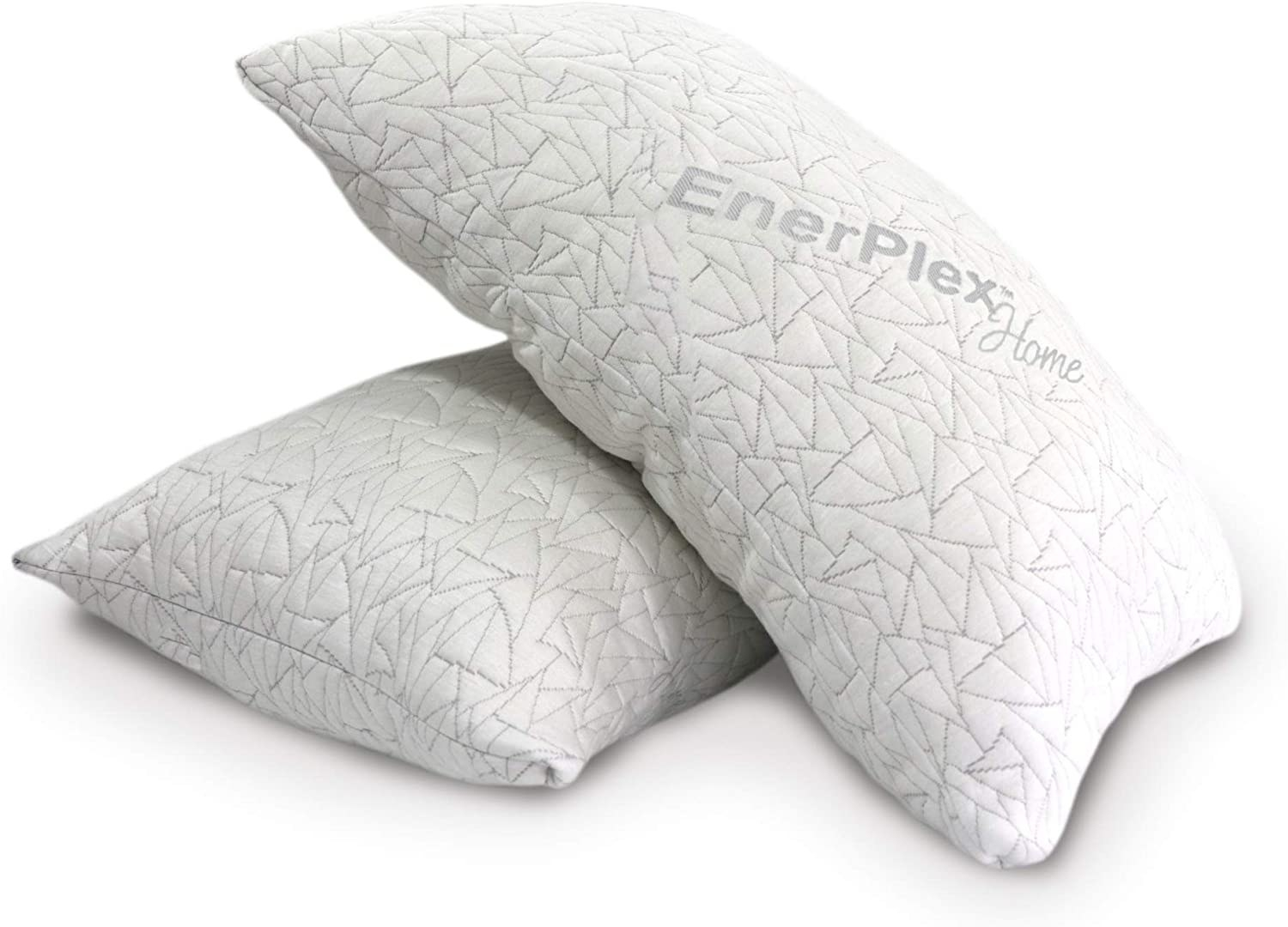 two enerplex home adjustable pillows