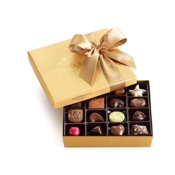 一盒巧克力