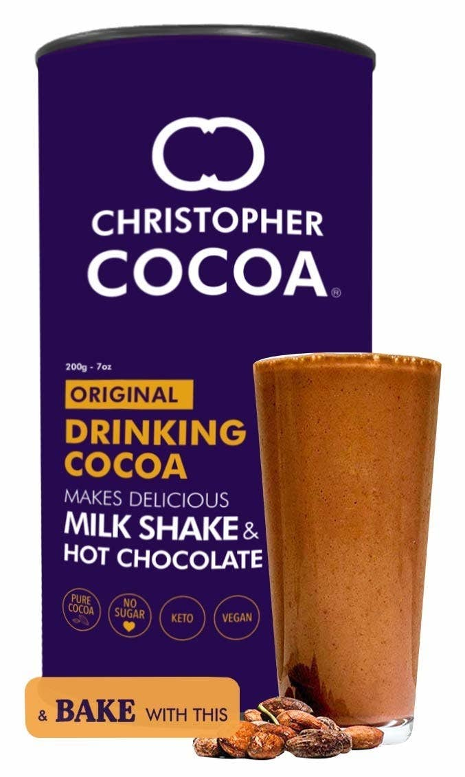 Packaging of the hot chocolate
