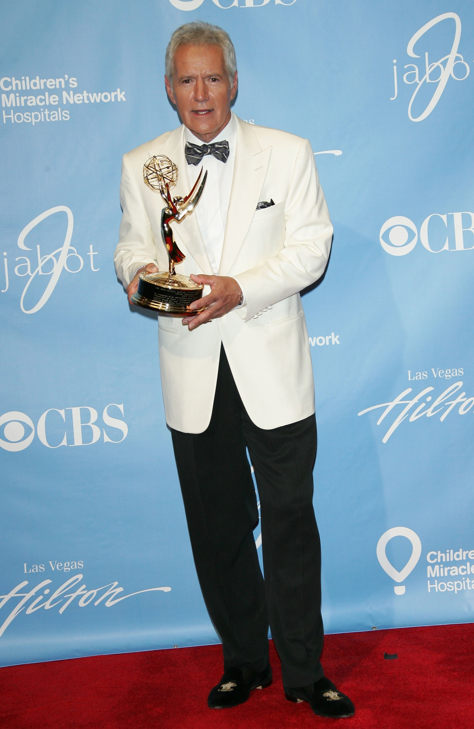 Alex Trebek in the press room for 38th Annual Daytime Entertainment Emmy Awards