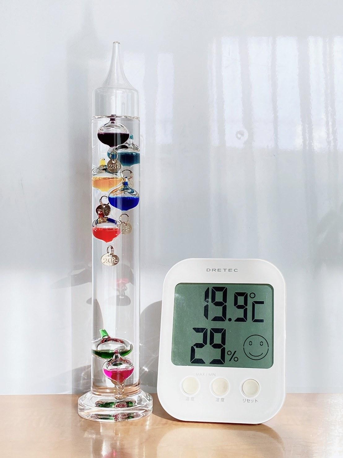 ニトリ ガリレオ 温度 計