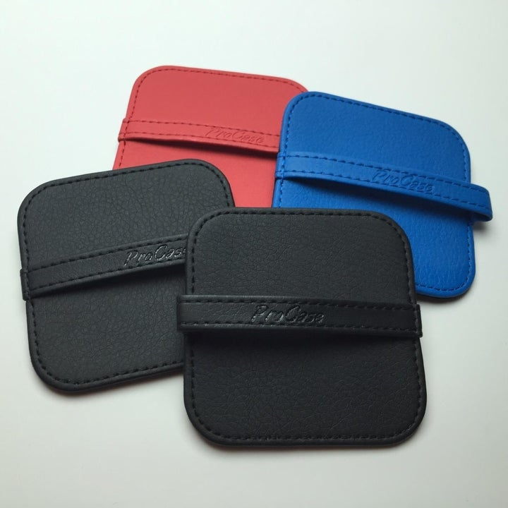 reviewer photo showing four of the cleaning pads
