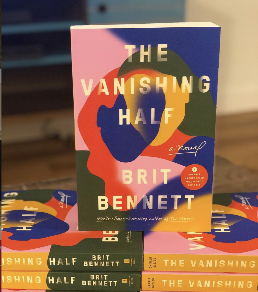 a copy of the vanishing half on top of other copies stacked