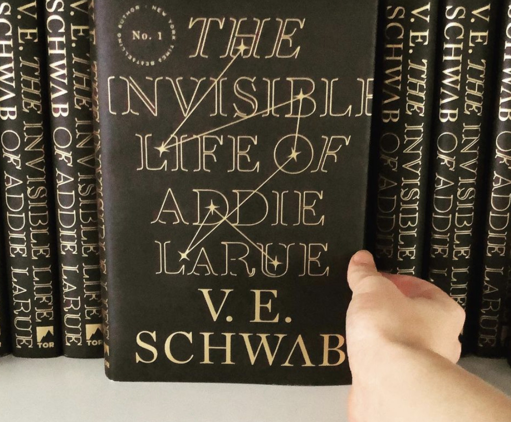 person holding the book which features a constellation on the cover