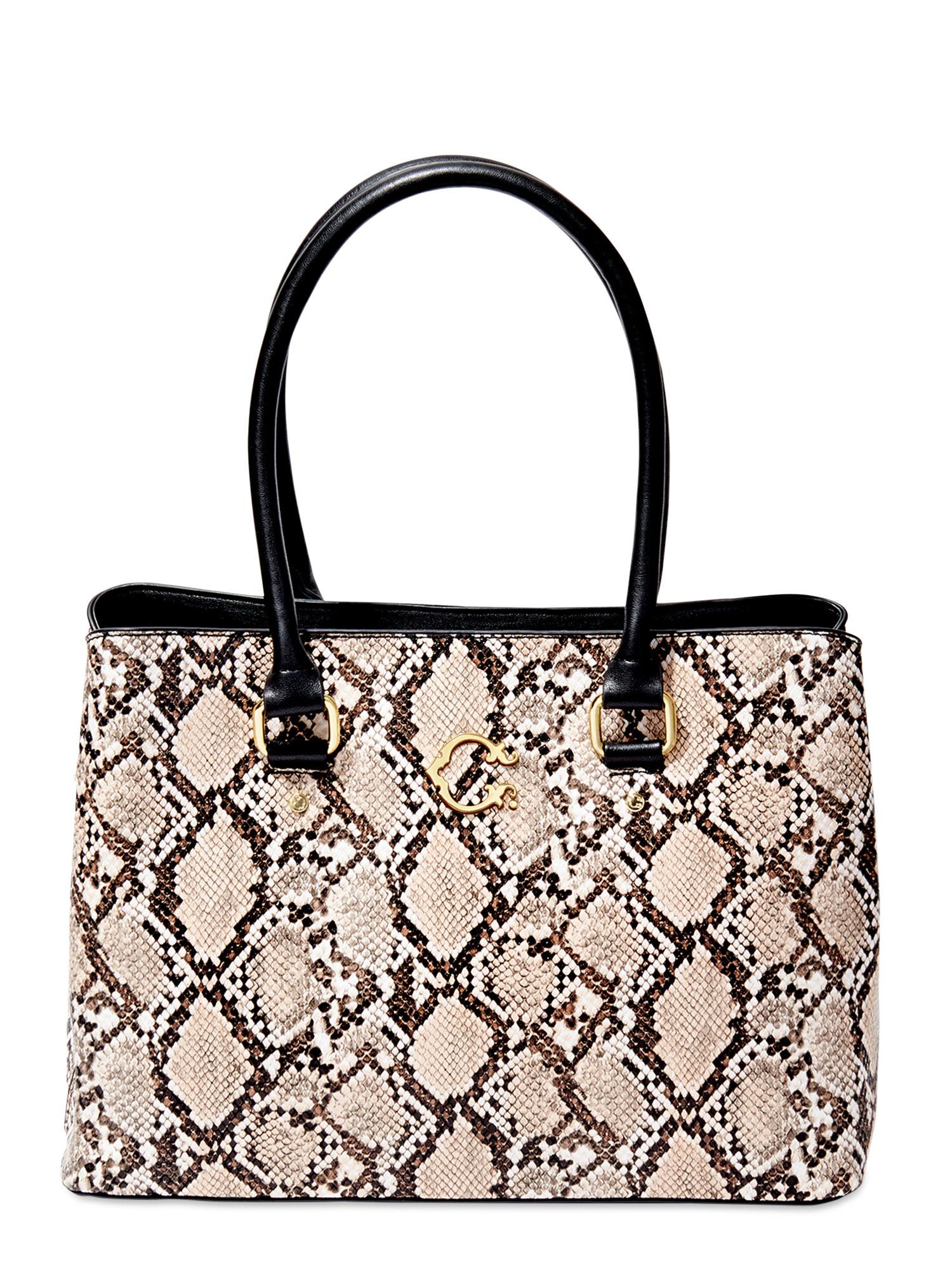 The snake printed bag