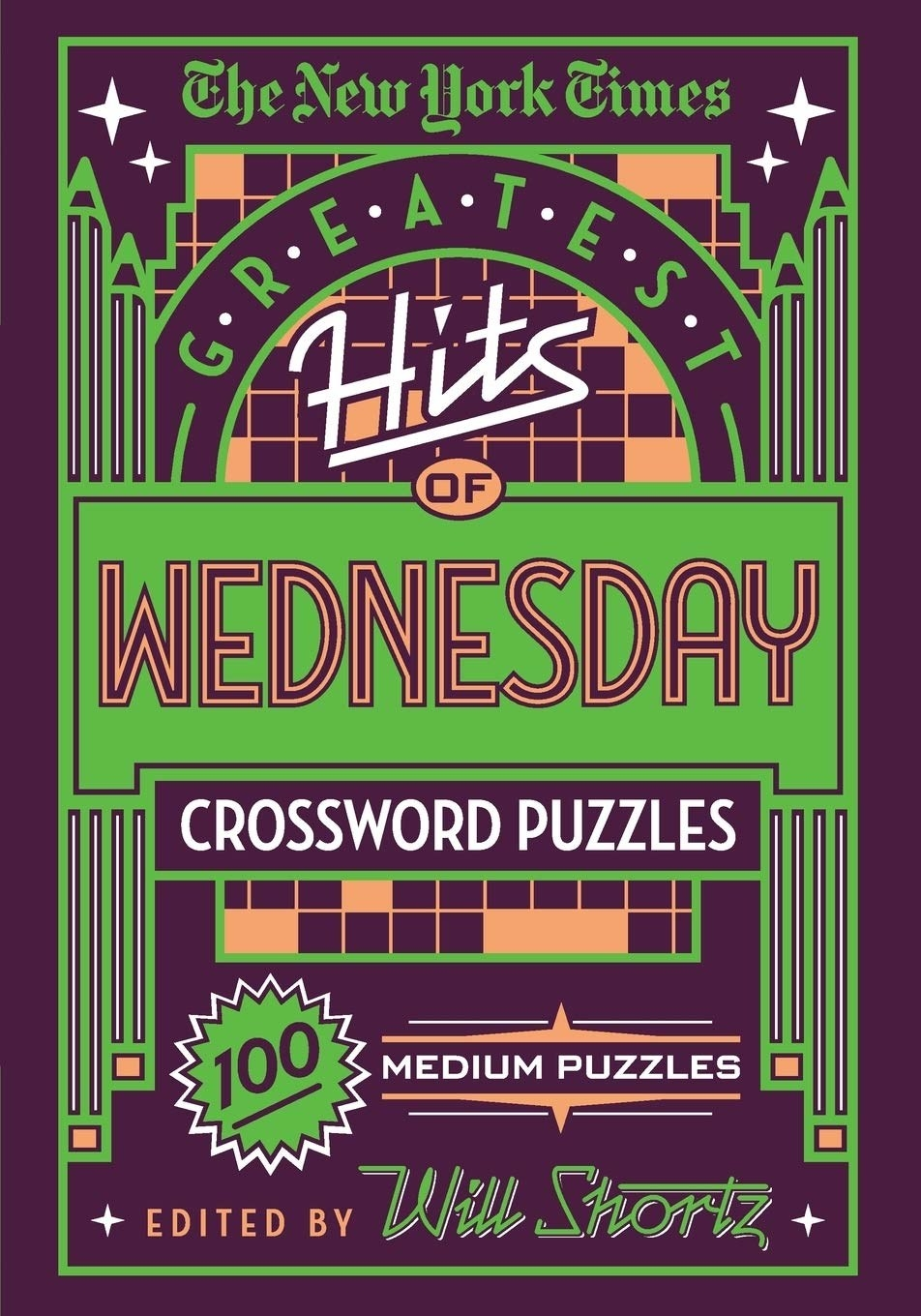 cover of The New York Times Greatest Hits of Wednesday crossword puzzles