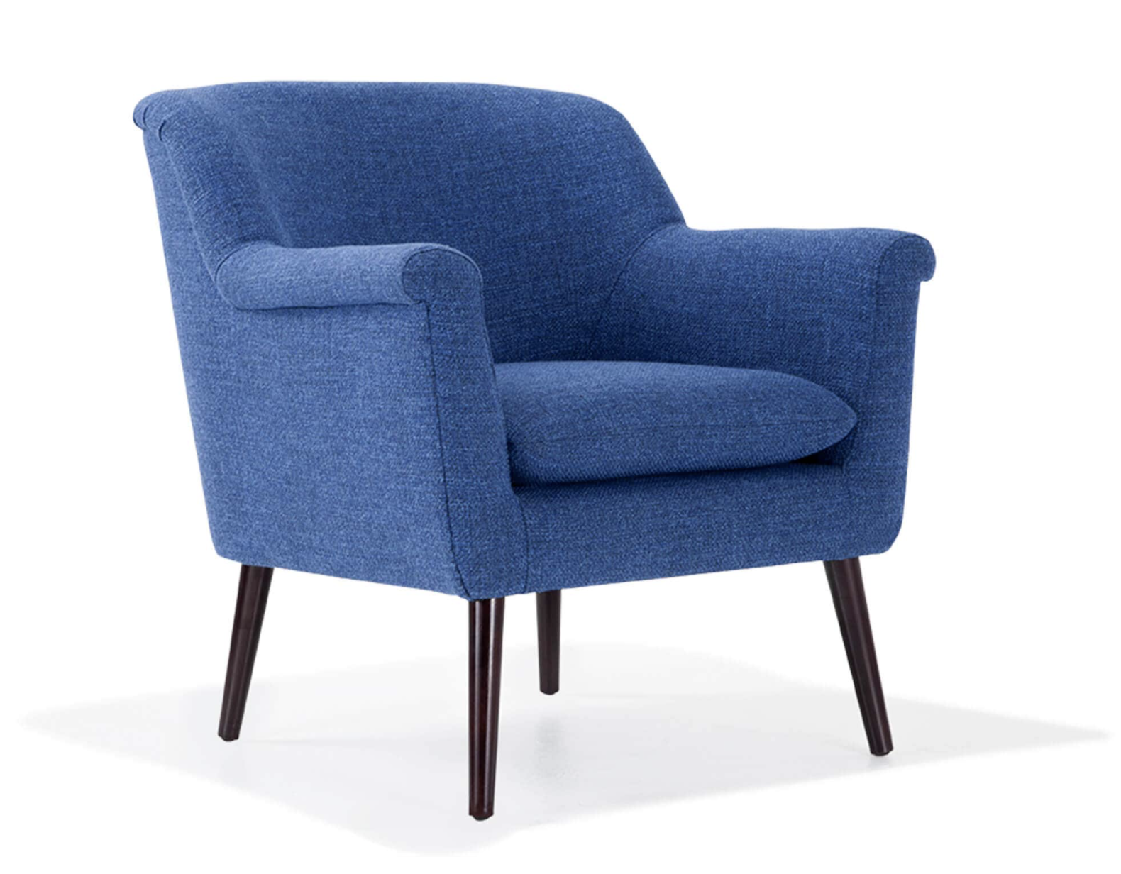 the royal blue reece accent chair