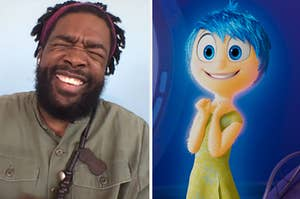 """Questlove and Joy from """"Inside Out"""""""
