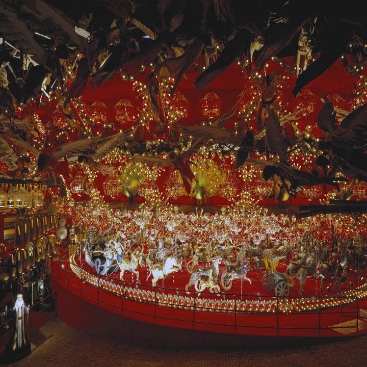 a grand carousel
