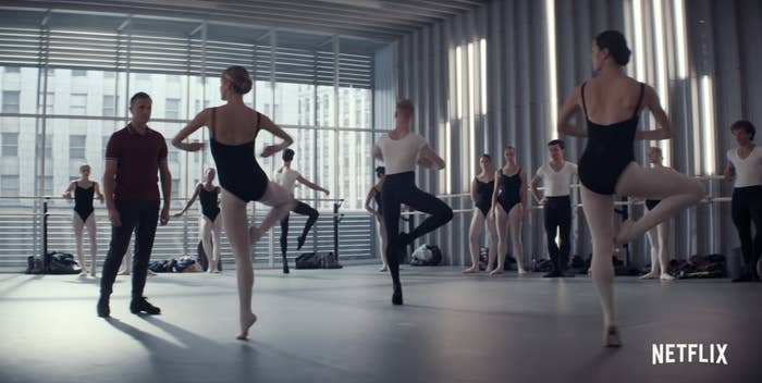 Ballet dancers in the studio in Tiny Pretty Things