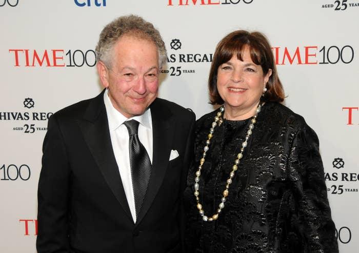 Jeffrey Garten, Ina Garten at arrivals for TIME 100 Gala Dinner 2015, Jazz at Lincoln Center''s Fredrick P. Rose Hall, New York, NY April 21, 2015