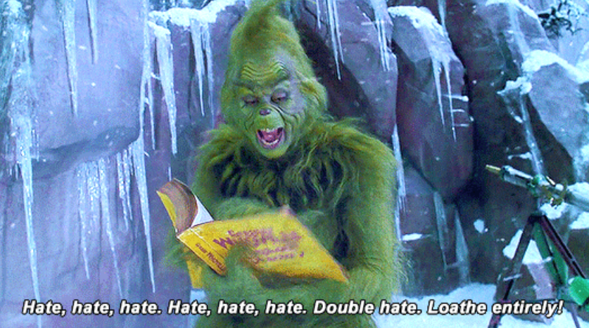 """Jim Carrey as the Grinch in the movie """"How The Grinch Stole Christmas."""""""