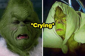 Jim Carey as The Grinch in the movie
