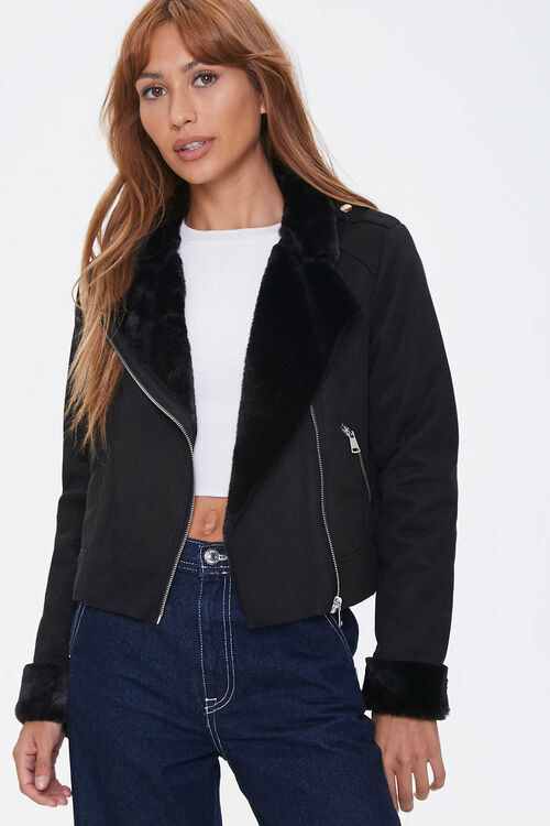 a model in the jacket