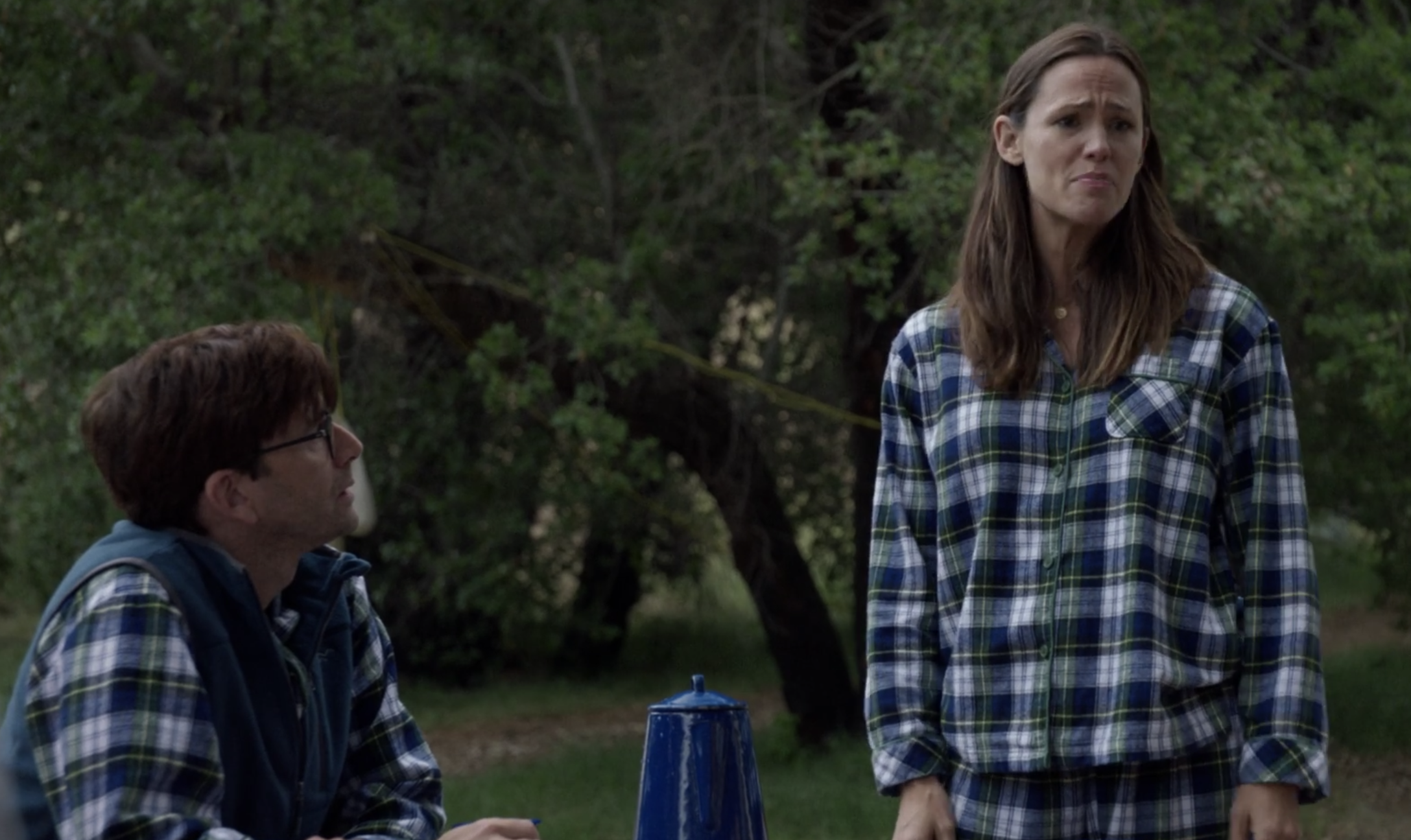 A still of Kathryn and Walt in Camping