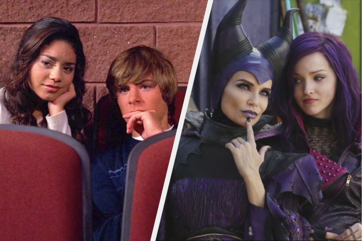 Scenes from High School Musical and Descendants