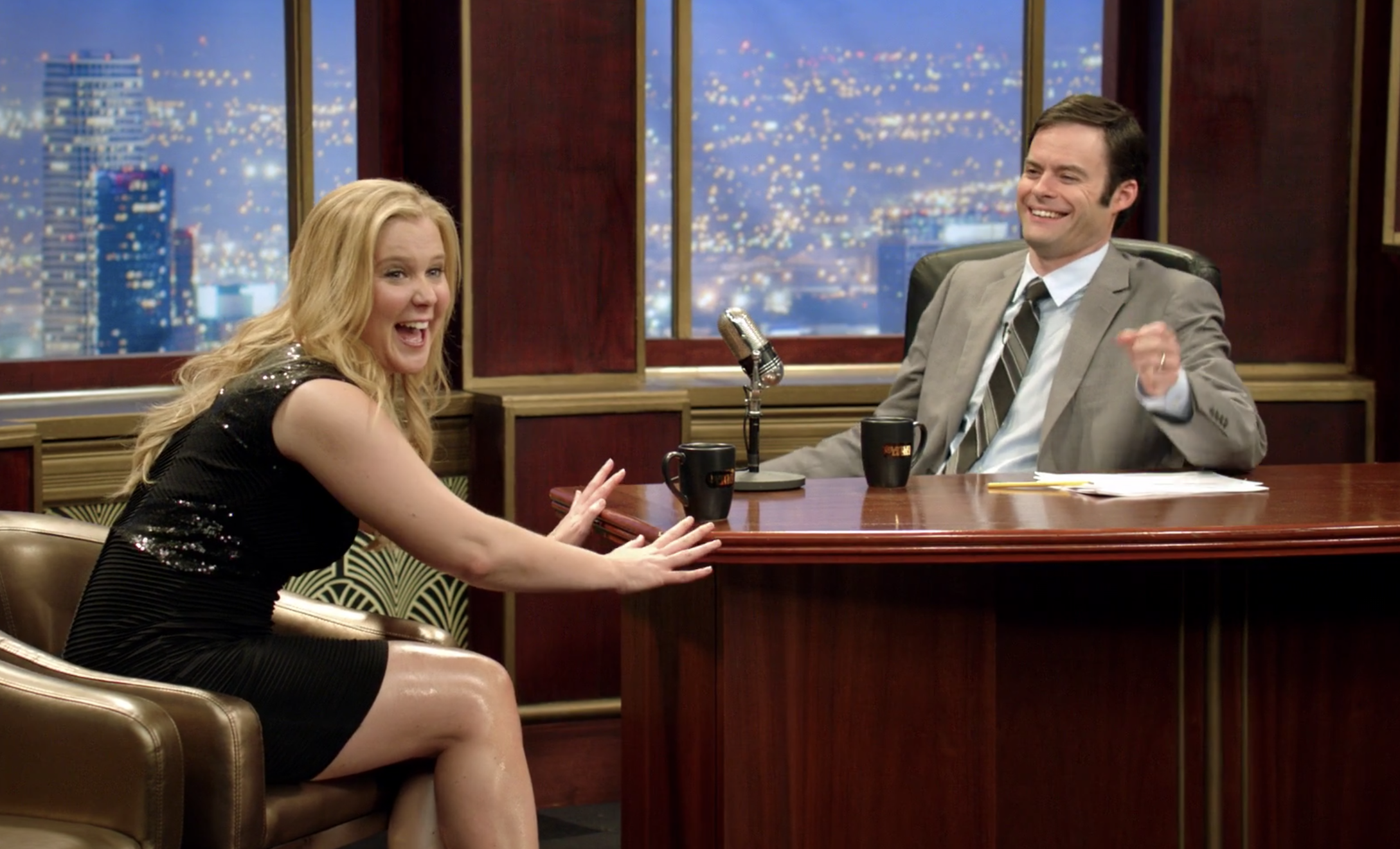 A still of Amy Schumer and Bill Hader in Inside Amy Schumer