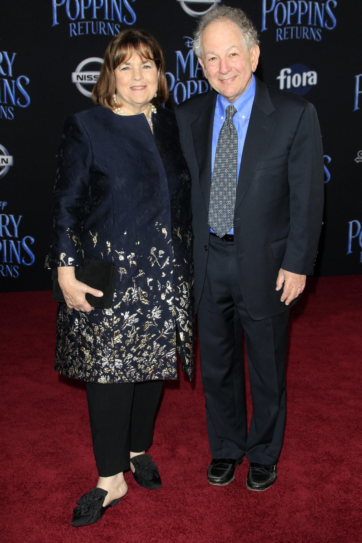 Ina Garten, Jeffrey Garten at arrivals for MARY POPPINS RETURNS Premiere, Dolby Theatre, Los Angeles, CA November 29, 2018