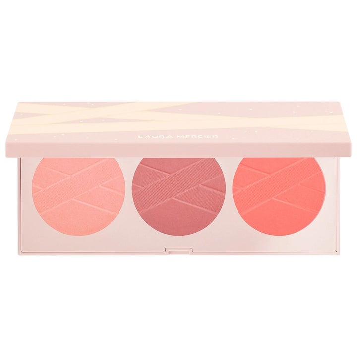 The palette with three different blushes inside