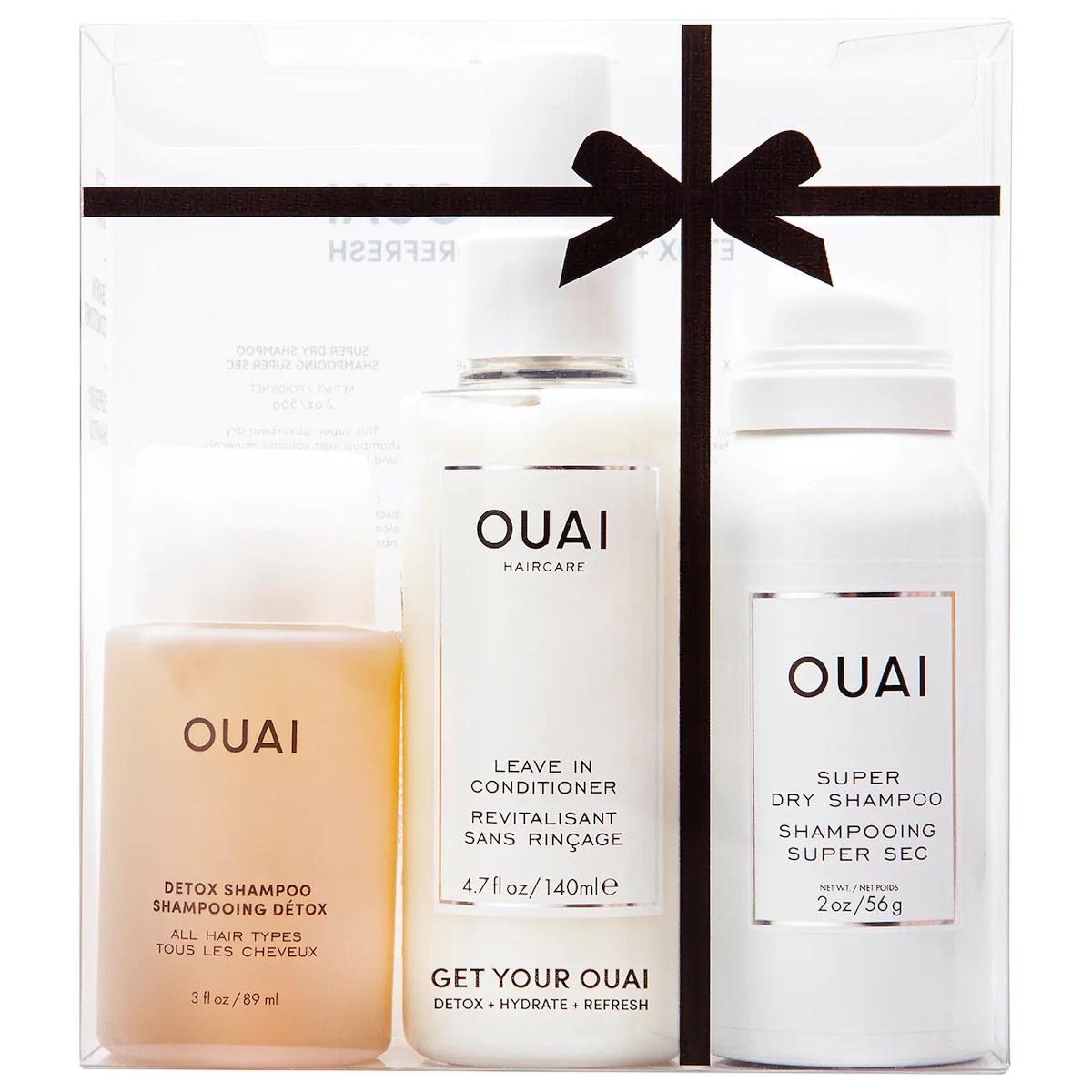 The three-piece OUAI set