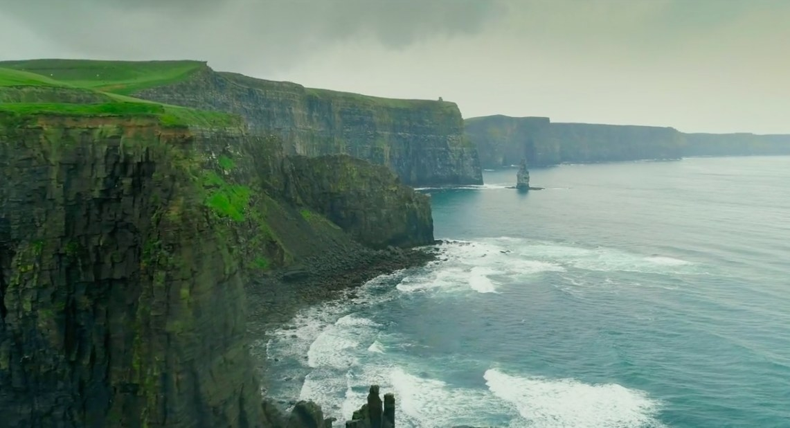 An Irish coastline