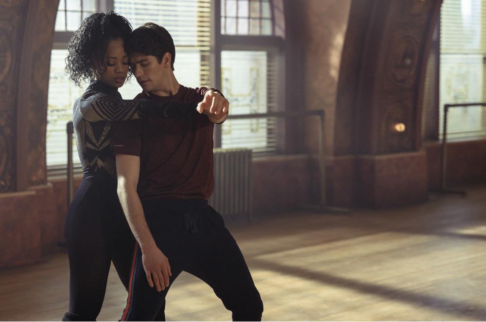 Neveah and Oren dancing
