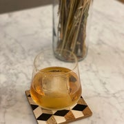 the finished cocktail