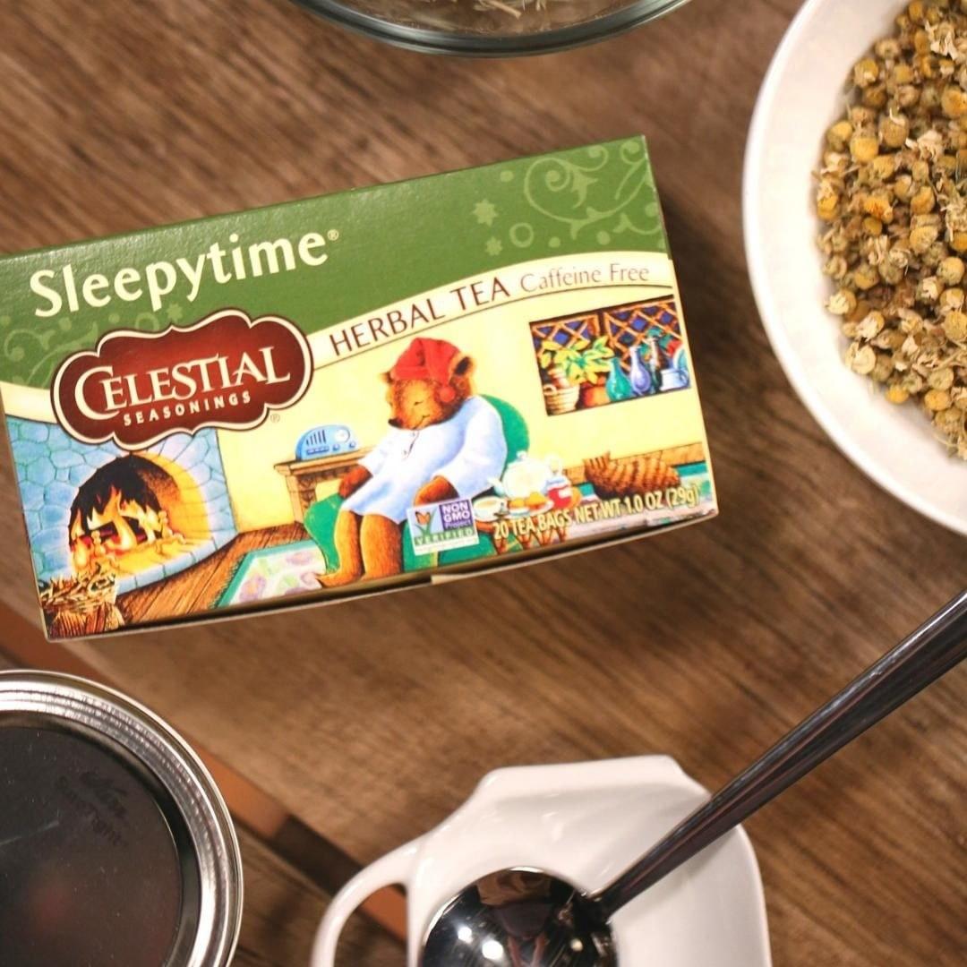 a box of sleepytime tea