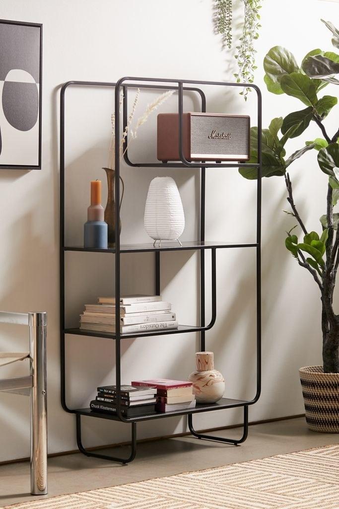 the black alana bookshelf