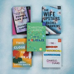 the five book choices for december for book of the month