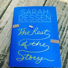 a hard copy of sarah dessen's the rest of the story novel